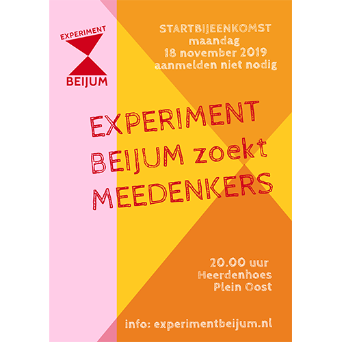 experiment beijum flyer