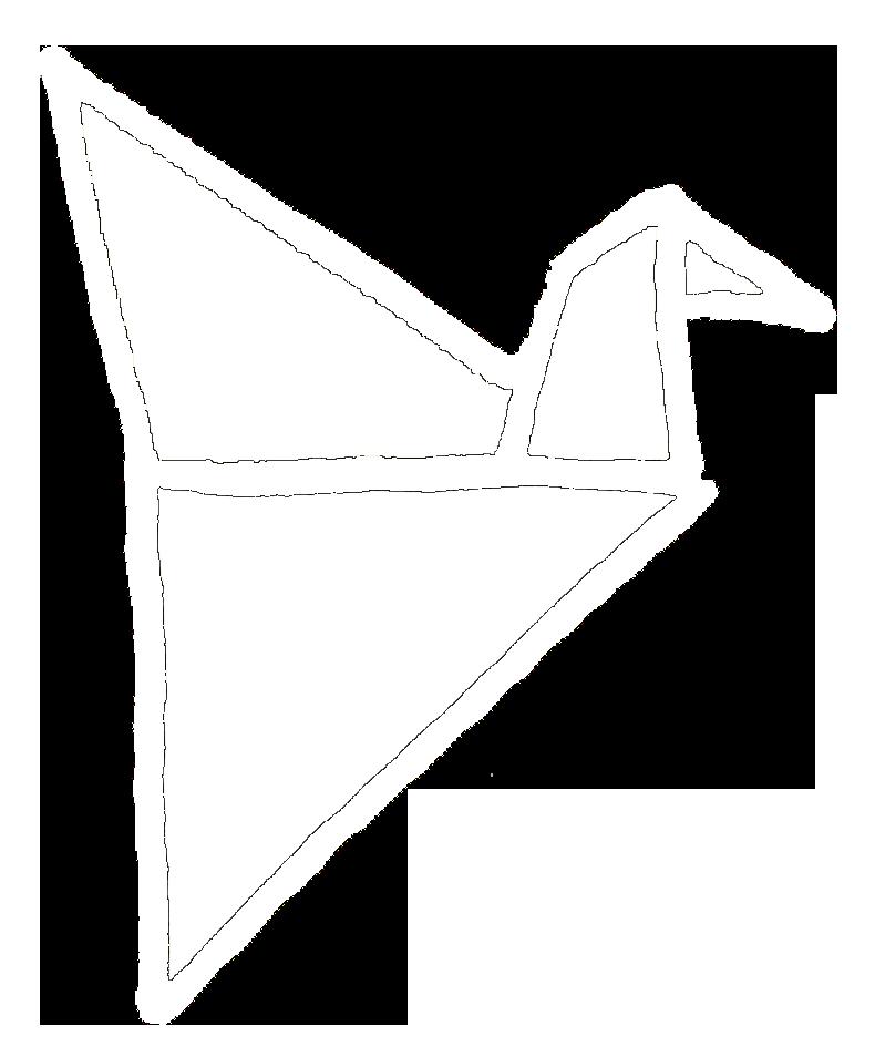 kraanvogel tekstbrigade wit
