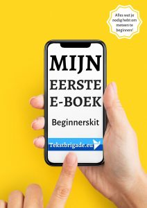 mijn eerste e-boek beginnerskit tekstbrigade.eu